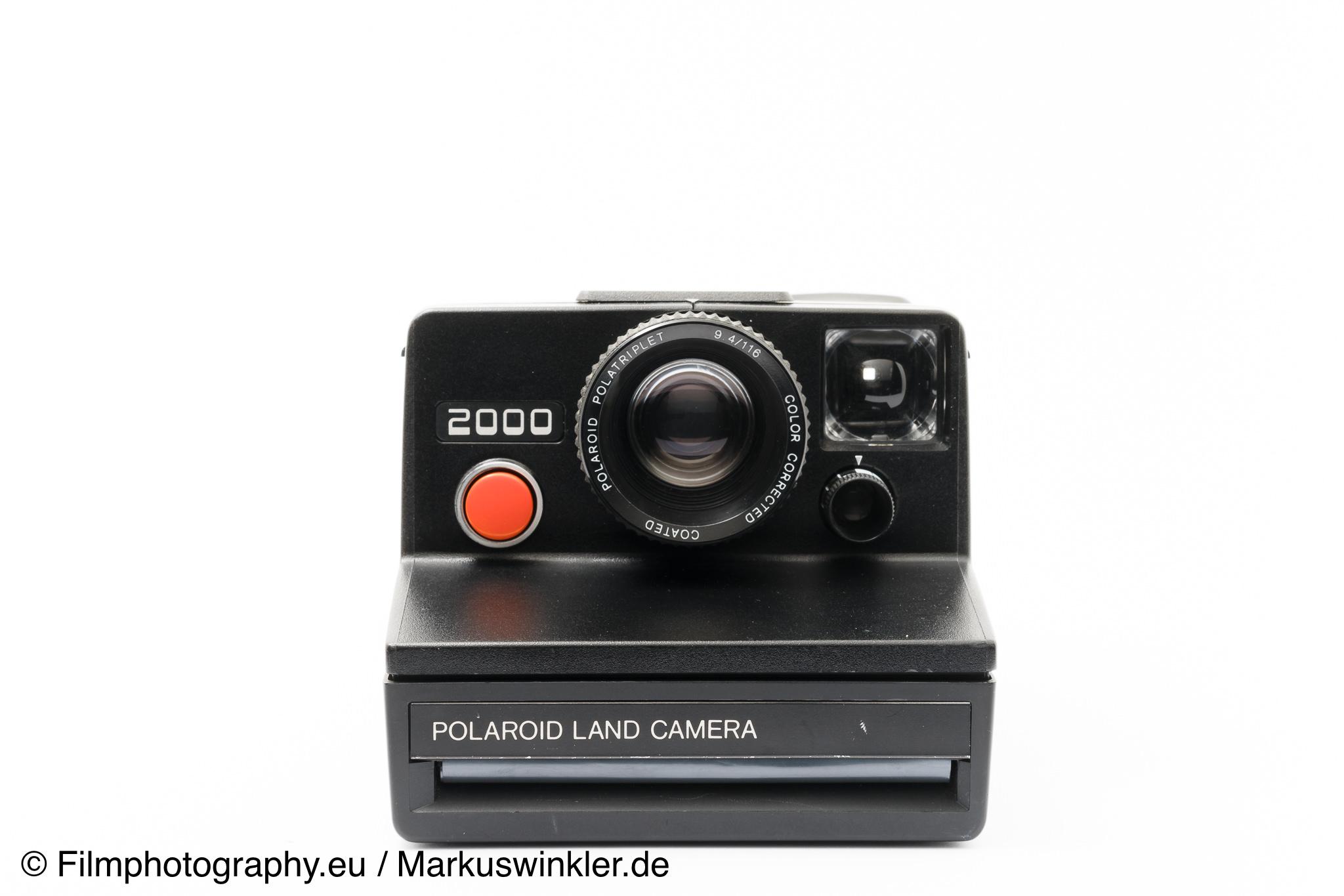 polaroid 2000 land camera sx 70 sofortbildkamera. Black Bedroom Furniture Sets. Home Design Ideas