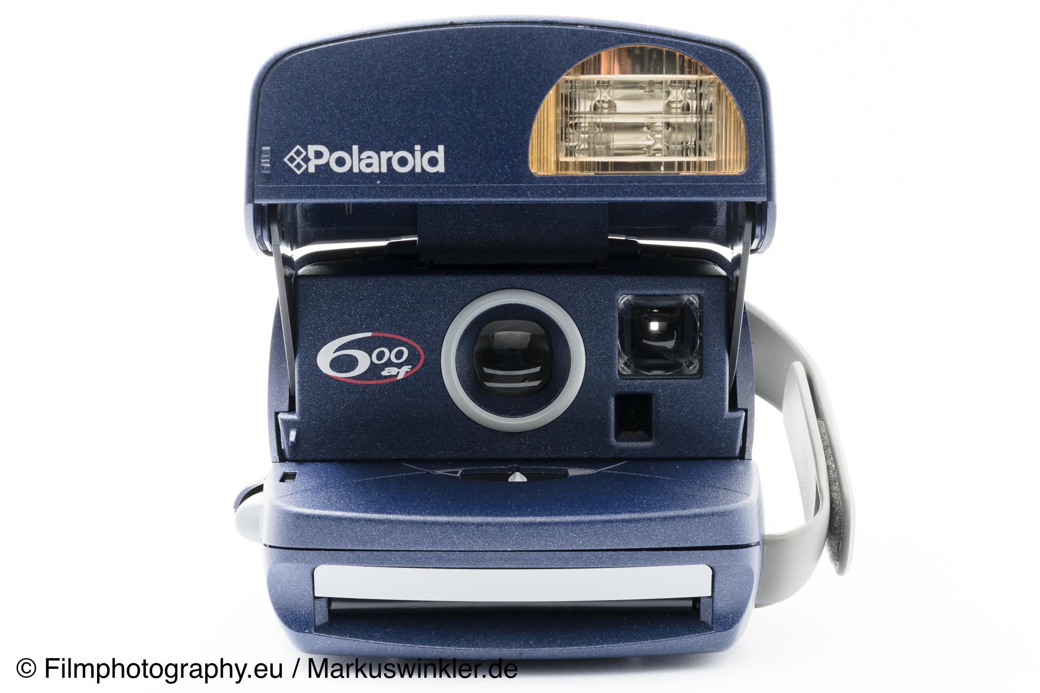 polaroid 600 af polaroid 600 autofocus sofortbildkamera. Black Bedroom Furniture Sets. Home Design Ideas