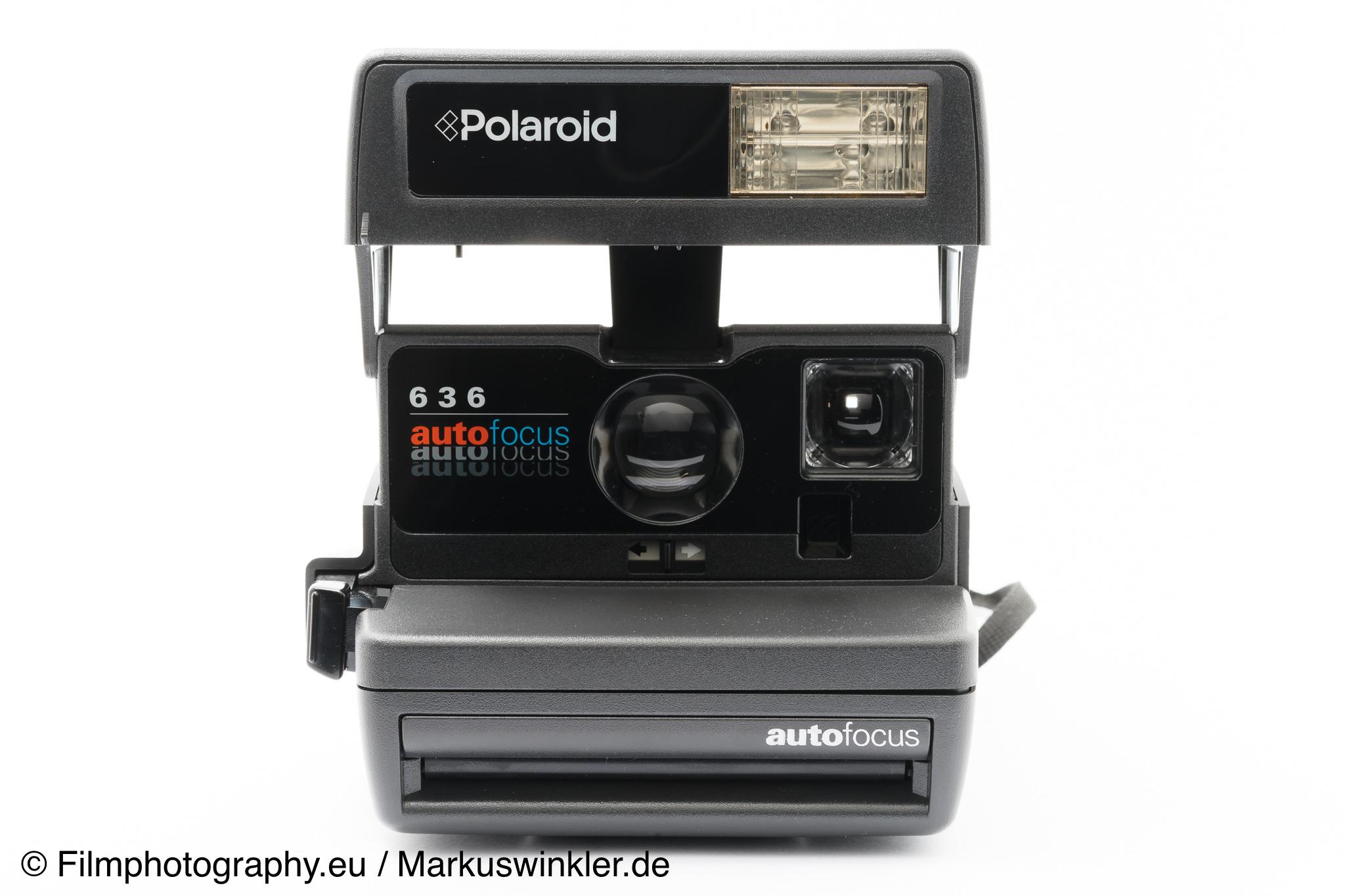 polaroid 636 autofocus 600 sofortbildkamera. Black Bedroom Furniture Sets. Home Design Ideas