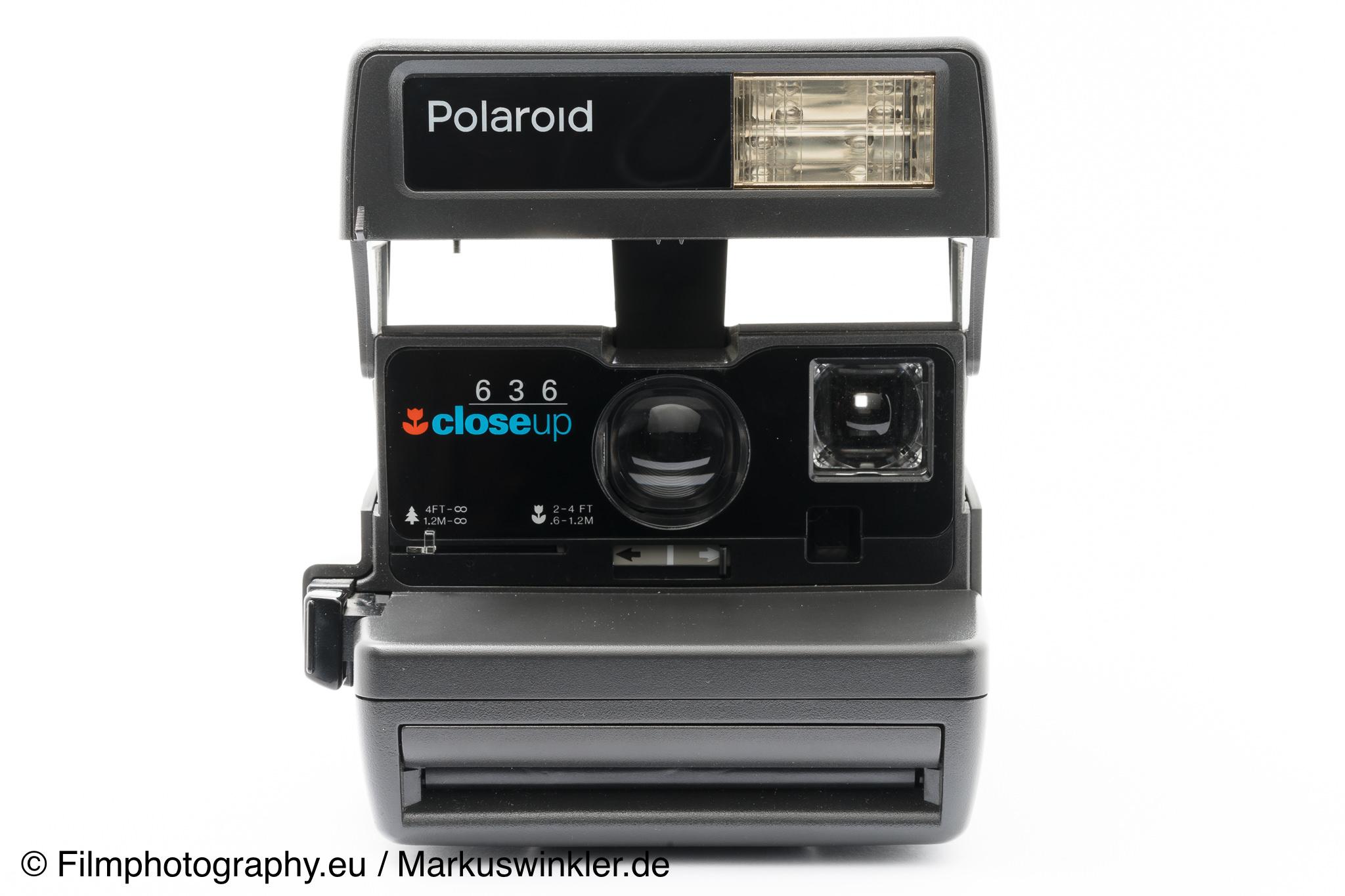 polaroid one step abgerundete ecken sofortbildkamera generation. Black Bedroom Furniture Sets. Home Design Ideas