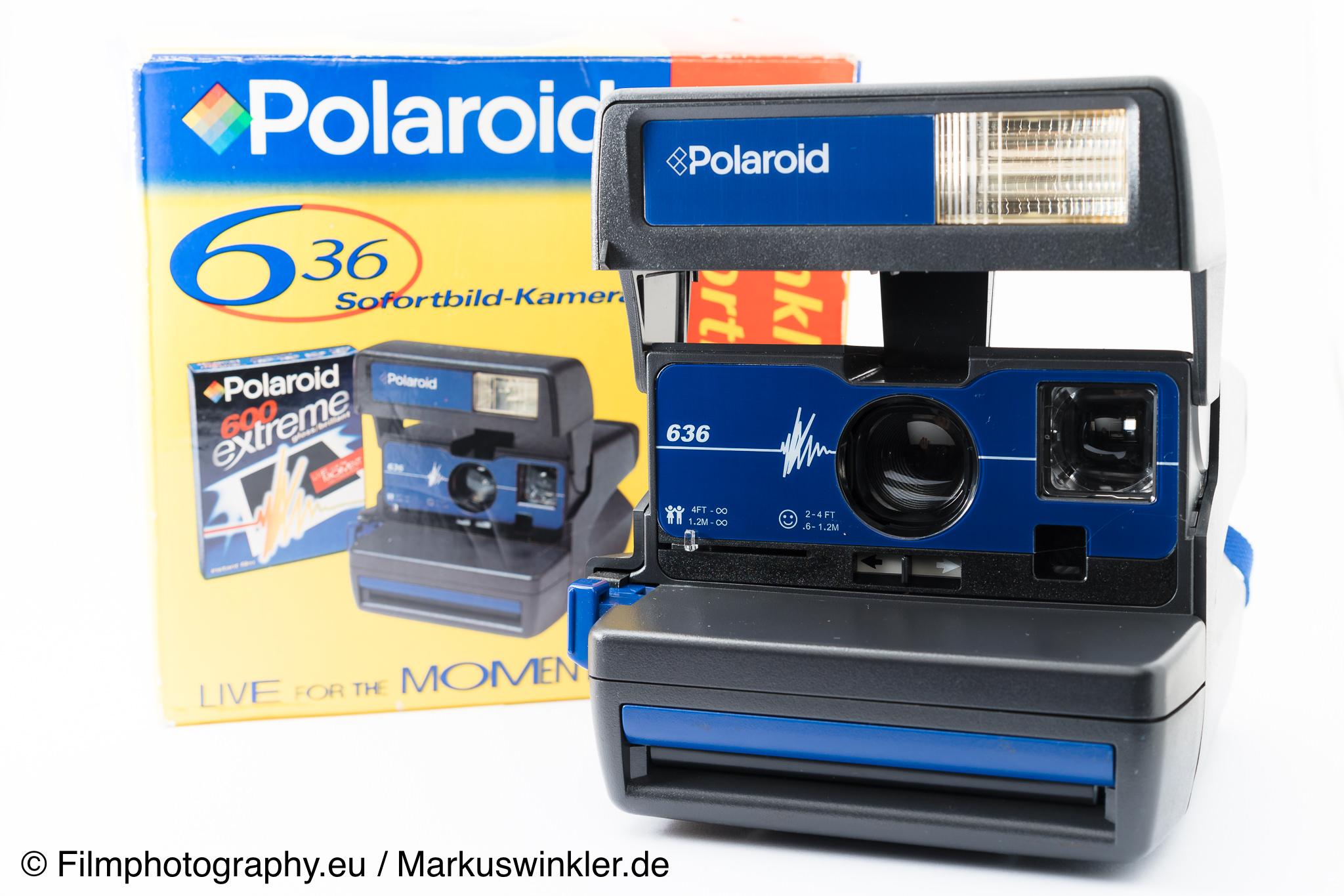 polaroid 636 sofortbildkamera. Black Bedroom Furniture Sets. Home Design Ideas