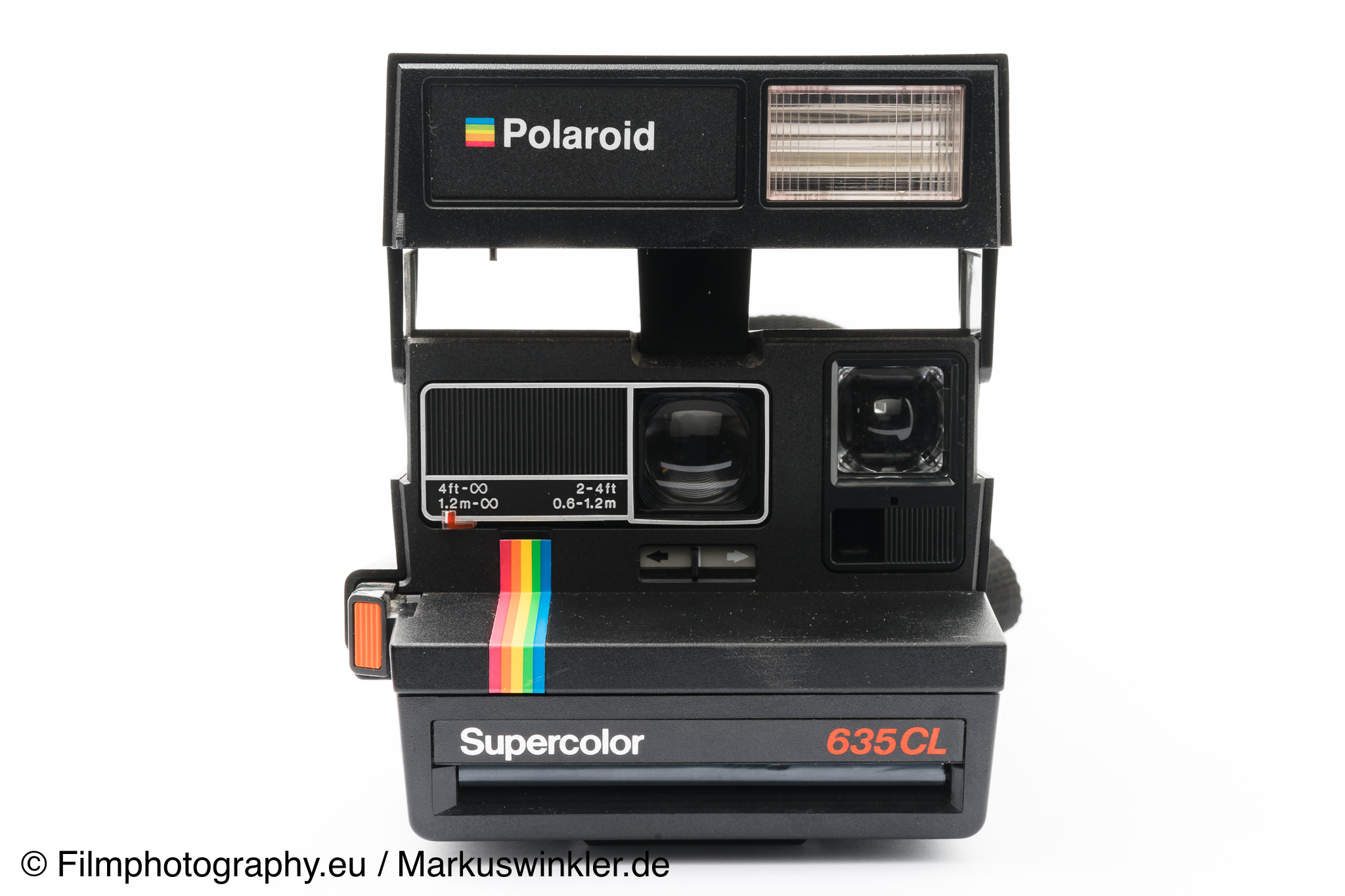 polaroid supercolor 635 cl sofortbildkamera. Black Bedroom Furniture Sets. Home Design Ideas